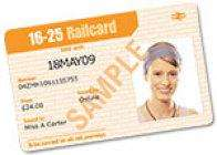 10% off 16-25 Railcard - now ONLY **£25.20** for 1/3rd off all Train Journeys/Oyster Card for 1 Year