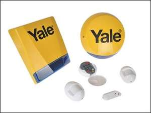Yale Locks Wireless Home Starter Alarm Kit, £89.95 delivered at My Tool Shed