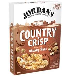 Jordans Country Crisp Chunky Nuts 500g £1.49@home bargains instore