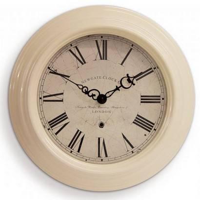 Newgate Small Gallery clock - Cream - £38.95 delivered @ Jarrold online