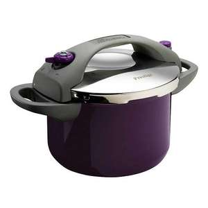 This morning Prestige Pressure Cooker ( Purple) only £32 @Very