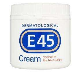 E45 cream 350g £3.50 at superdrug