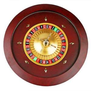 Roulette Wheel Double Zero 450mm - £149.99 Delivered @Drinks stuff