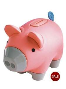 little tikes piggy bank down to £5 from £12 and 3 for 2 @very
