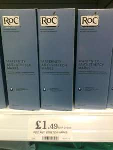 Roc Maternity Anti Stretch Mark Oil 150ml With Soyabean Oil and Sweet Almond Oil £1.49 @ Home Bargains