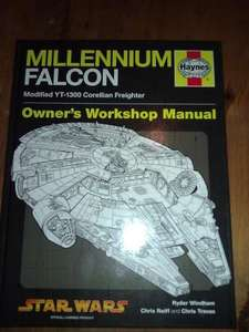 Haynes manual - Millennium Falcon 1977-  Star Wars - 7.49 - 50% off @ Book Depository