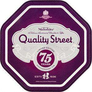 Nestle Quality Street Anniversary Tin (1.6Kg) £3 @ Sainsburys, (1kg avail in some stores - see comments)