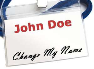 Change your Name Legally by UK Deed Poll £14 instead of £36 at Wowcher