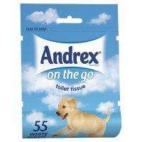 "Andrex ""on the go"" toilet roll (55 sheet pack) scans at 1p in tesco!"
