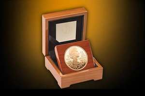 The Queen's Diamond Jubilee UK Gold Proof Coin £2400 @ Royal Mint
