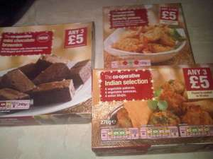 Co-Op Frozen Selections - Was 3 for £5 - Now 49p each