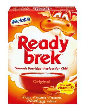Weetabix Ready Brek - 500g only 99p @ Lidl