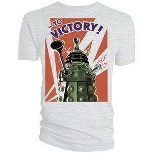 Doctor Who: Dalek To Victory! T-Shirt £4.99 Play.com
