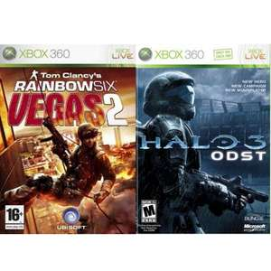 Halo 3 ODST & Rainbow Six Vegas 2 - £5.99 for both - Gamestation BOGOF on selected pre owned games
