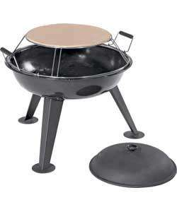Jamie Oliver Charcoal Firepit with Pizza Stone - £36.99 @ Argos