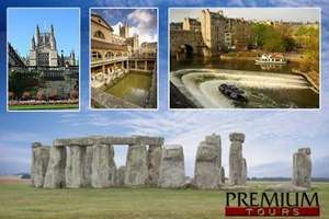 Adult Day Trip to Stonehenge and Bath for £29 (51% Off) @ Groupon (Premium Tours)