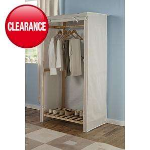 Asda Canvas Wardrobe £10 - Back in stock, free del to store