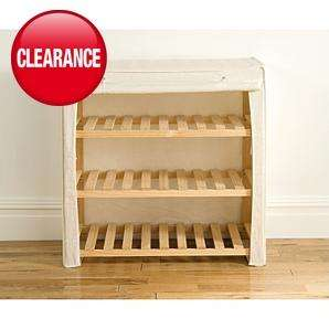Canvas Shelving Unit - 3 Tier, was £27 now £9.99 @ Asda + delivery