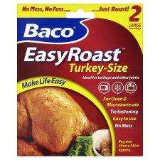 Baco Easy Roast Oven Bag - Turkey Size 75p @ Tesco