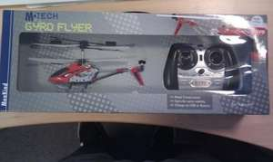 M.Tech Gyro Flyer remote control helicopter £19.99 from Menkind was £29.99