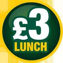 Subway £3 Lunch, Choice of 9 subs plus a drink for £3 or foot long + drink for £5