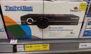 Technisat HDFS Freesat HD Receiver / Recorder - £44 @ Tesco