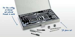 34 Piece Tap and Die Set £17 at aldi this thursday