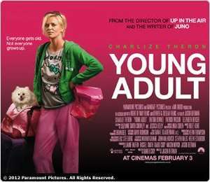 """Free Screening of """"Young Adult"""" SKY MOVIES CUSTOMERS - 30th Jan 6:30pm"""