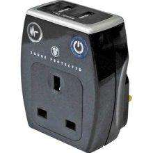 Surge protected dual USB plug 70% off £4.49 @ Sainsburys instore