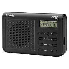 "Pure One Mi DAB Radio in Black, only £19.99 @ Sainsbury""s."