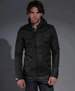 Mens Superdry Blackwatch Army Jacket - 64% off - £44.99 Delivered @ Superdry eBay Outlet