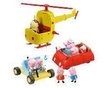 Tesco Offer - £15 - Free delivery to store - Peppa Pig Helicopter, Car & Moon Buggy plus Figures Set