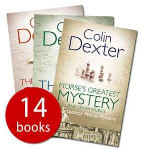 The Complete Inspector Morse Collection (Paperback) Colin Dexter @bookpeople.  Now £14.99