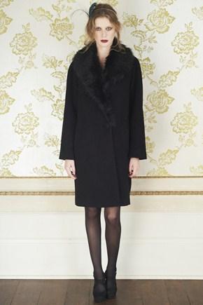Great Plains faux-fur trim coat down to £35 (was £140)