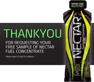 "Free ""Nectar"" sports concentrate from forgoodnessshakes - FB like!!!"