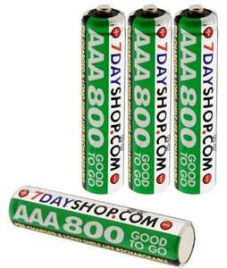 AAA low-discharge batteries - 3 packs of 4  £6.99 @ 7dayShop