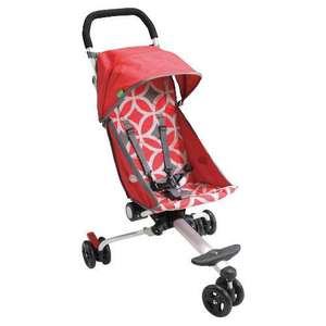 Quick smart  Back Pack Pushchair - Red £99.99 Delivered to store @ Tesco Direct with code