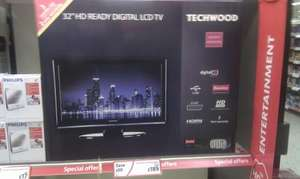 "Techwood 32"" LCD television Instore £189.00 @ Morrisons"