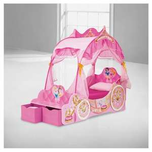 Disney Princess Carriage Toddler Bed £100 (tdx7pkf) from tesco direct or collect