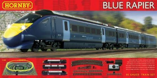 Hornby R1139 Blue Rapier 00 Gauge Electric Train Set - was £99.99 now £59.99 @ Argos Reserve for Store Pickup