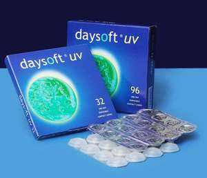 Day Soft Daily-Disposable Contact Lenses. £5.24 per box (32 Lenses) Delivered @ Day Soft