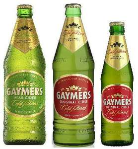 gaymers original and pear cider pint bottles for £1.00 @ nisa