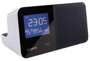 Sony DAB alarm clock radio at Argos for £39.99