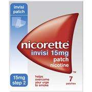 Nicorette Invisible Patch 10MG 7S £6.99 @ Superdrug