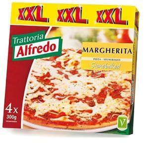 4 x Trattoria Alfredo Margherita Stonebaked Pizzas - £2.49 @ Lidl
