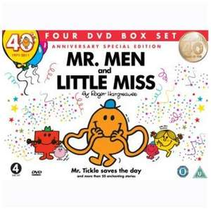 Mr Men & Little Miss: 52 stories on 4 dvds £ 6.69 from play