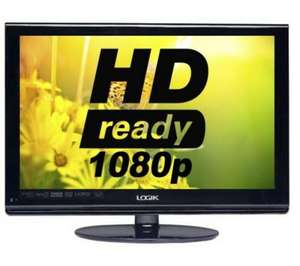 "LOGIK L24DVDB19 24"" Full HD LCD TV with DVD Player @ Currys only £99.97 collection only"
