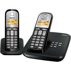 SIEMENS AS285 TWINGIGASET DIGITAL TELEPHONE WITH ANSWER MACHINE AND 2 HANDSETS £21.24 which best buy @ Comet