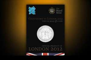 The 2012 £5 UK Countdown coin (final coin) -- Free P&P with code @ The Royal Mint