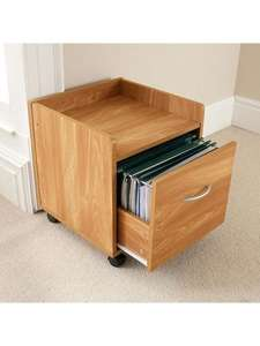 Oak Effect A4 Filing Cabinet £9.99 @ Asda direct